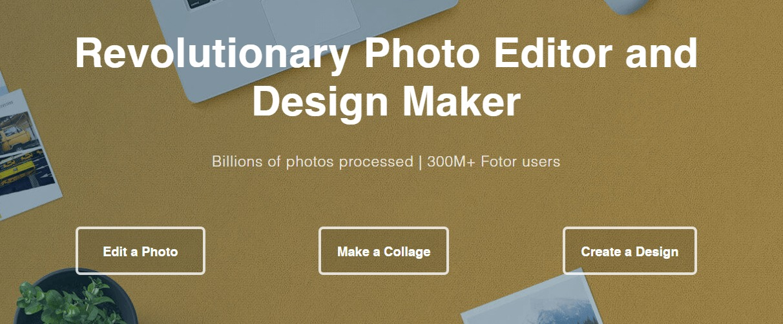 Program na úpravu fotiek Fotor