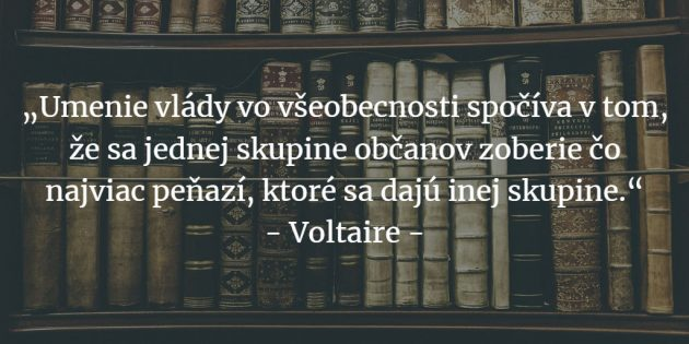 Voltaire citáty