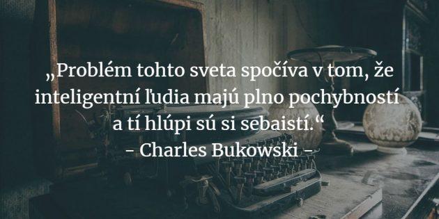 Charles Bukowski citáty