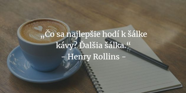 Citáty o káve
