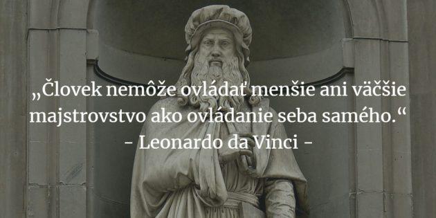 Leonardo da Vinci citáty